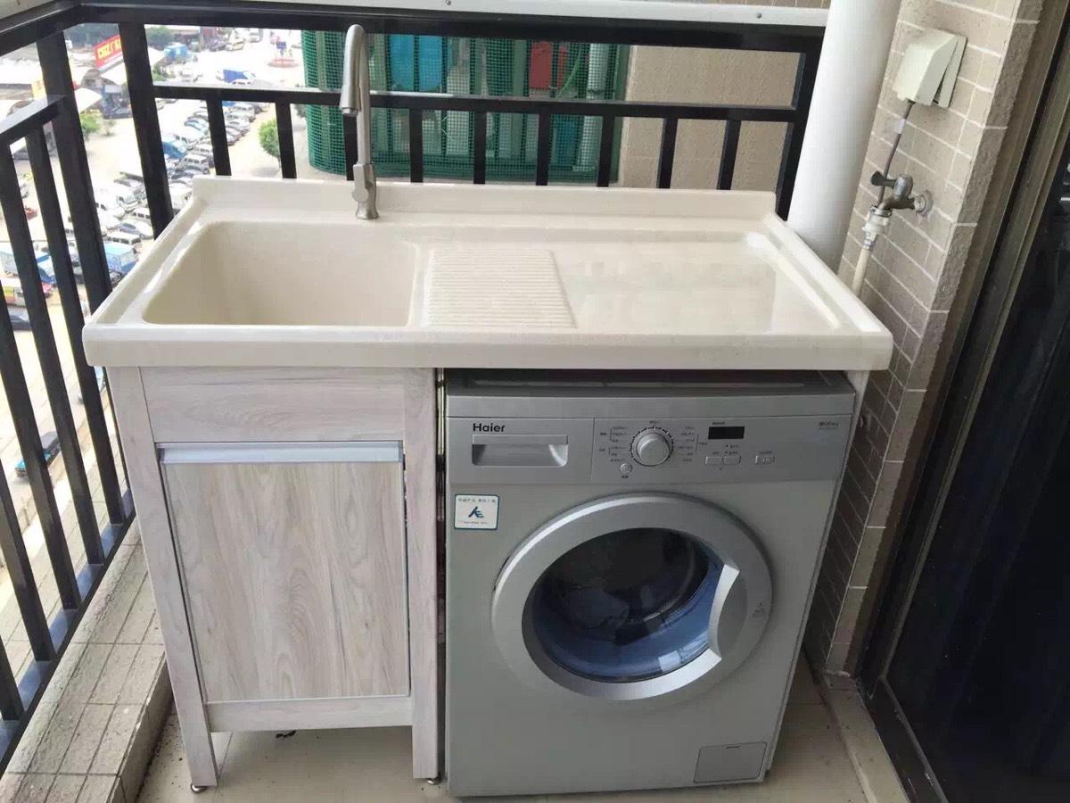 深圳阳台洗衣机柜,洗衣机伴侣