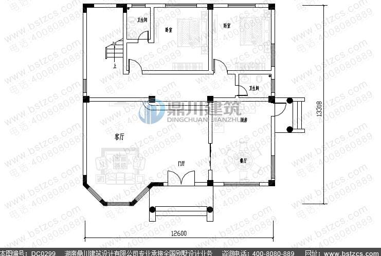 2016年新款二层欧式小别墅设计图纸尖屋顶农村自建房