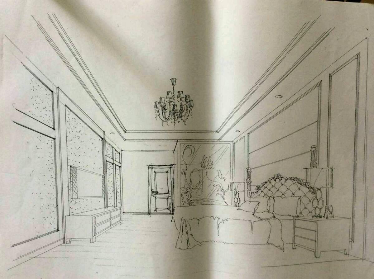 施工前期设计手绘图 - 家在深圳 - 房网论坛(深圳房网