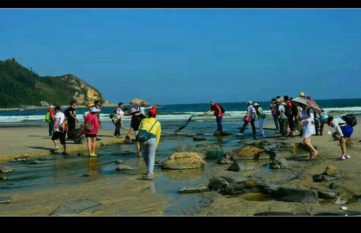 惠东狮子岛海岸线穿越