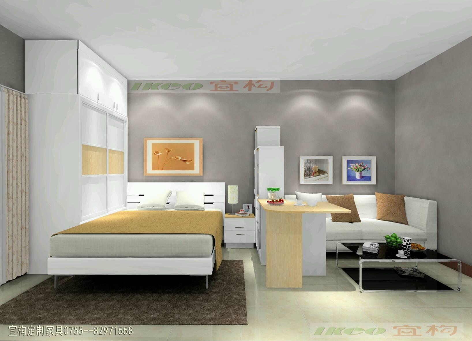 白石龙龙泽苑单身公寓设计方案