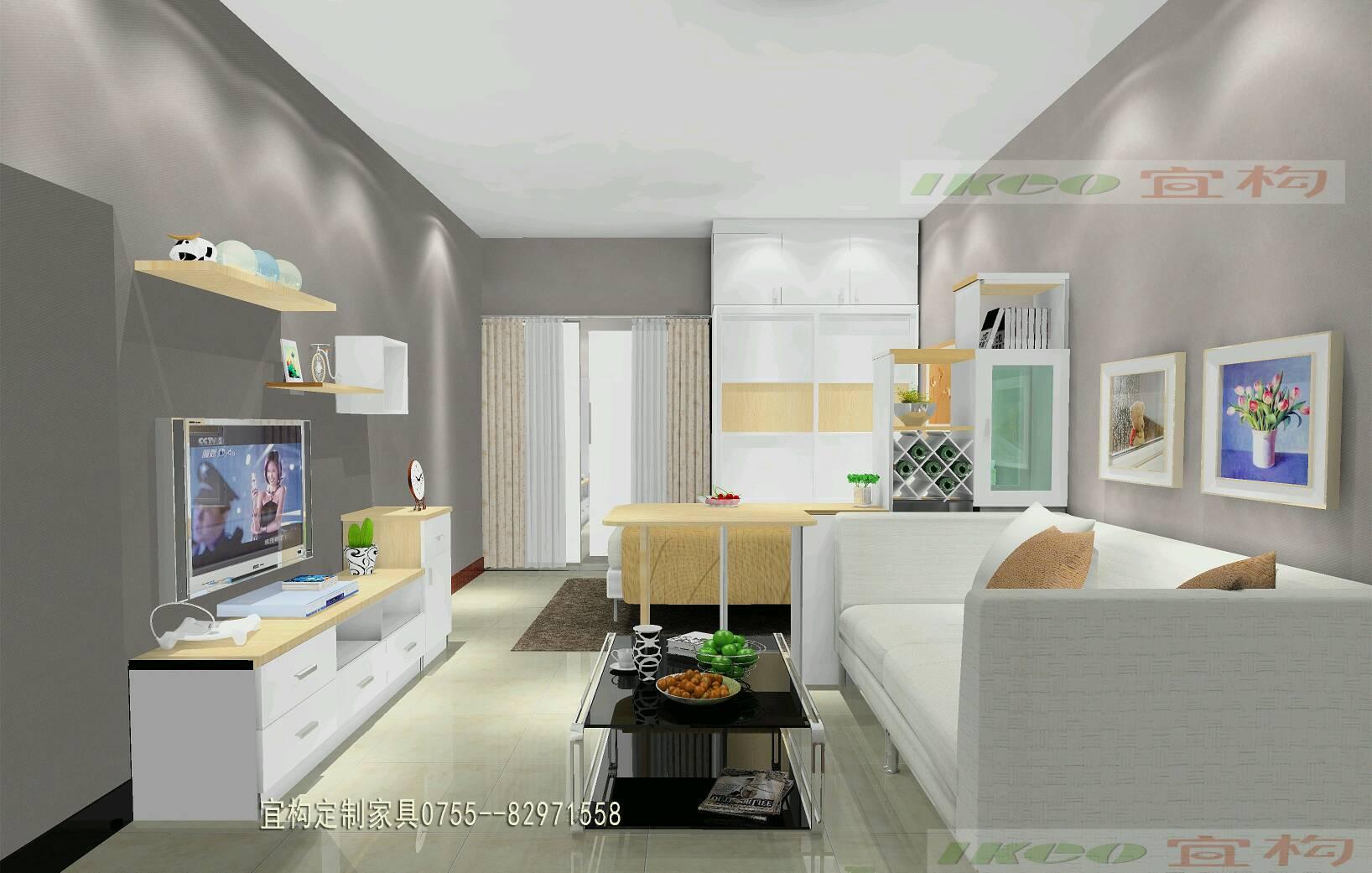 白石龙龙泽苑单身公寓设计方案 - 家在深圳 - 房网(房