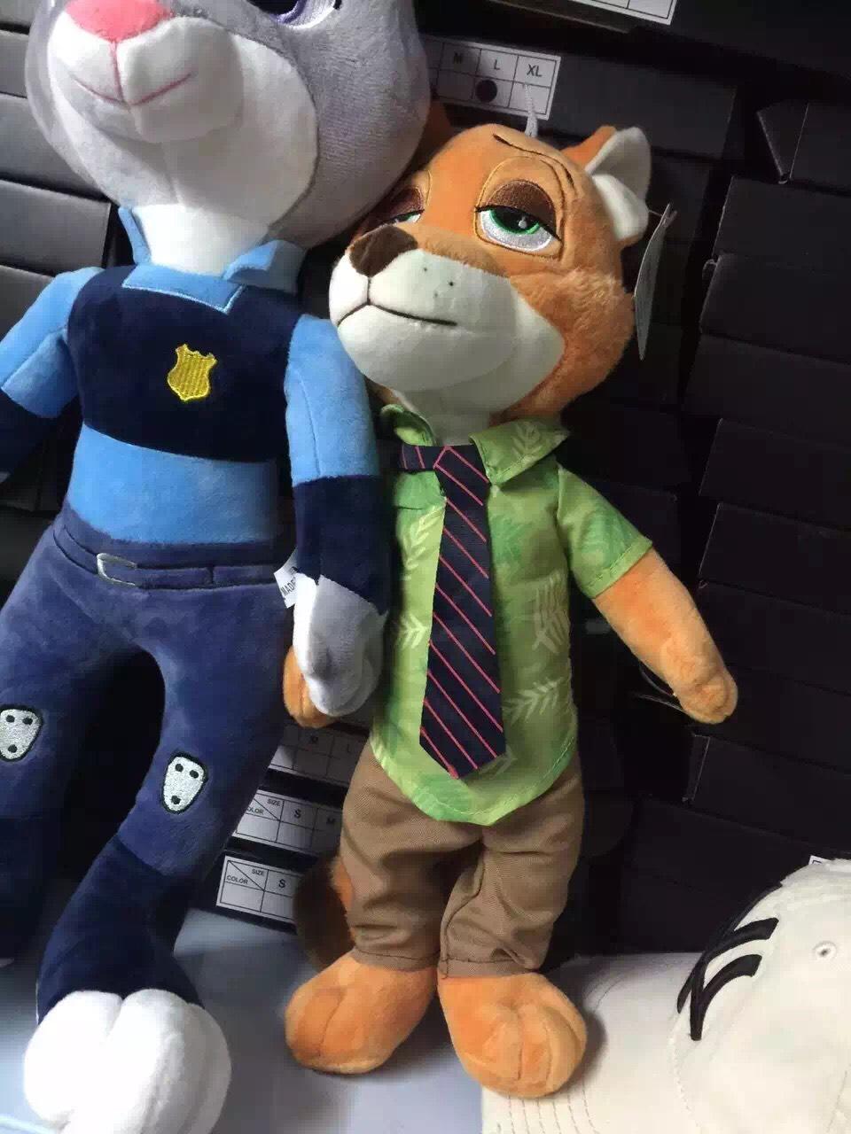 迪士尼原单兔子朱迪,狐狸尼克