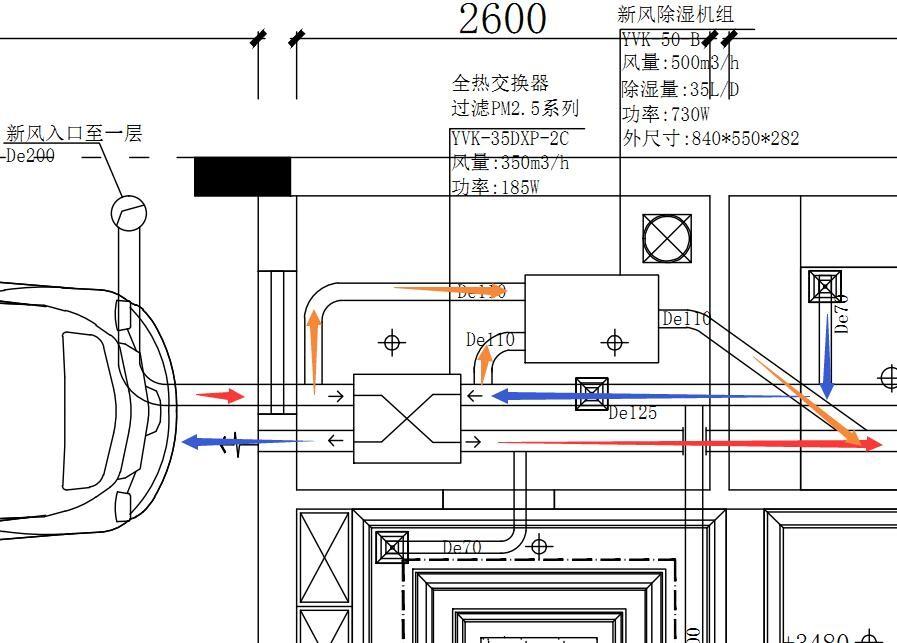 移动除湿机电路图