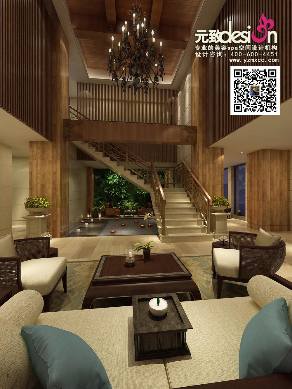 中式会所 中式养生馆设计